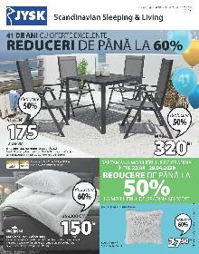 JYSK - Reducere la mobilierul de gradina | 23 Aprilie - 20 Mai