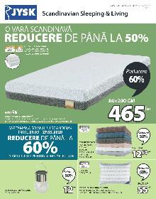 JYSK - Pana la 60% reducere la articolele pentru somn selectate | 21 Mai - 17 Iunie