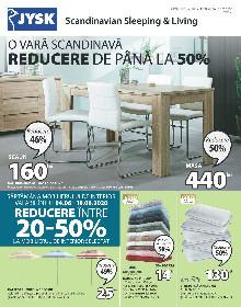 JYSK - Reducere la mobilierul de interior | 04 Iunie - 01 Iulie