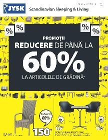 JYSK - Pana la 60% reducere la articolele de gradina | 01 August - 12 August