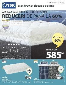 JYSK - Amenajeaza-ti dormitorul cu Jysk. Reduceri de pana la 60% | 15 Octombrie - 04 Noiembrie