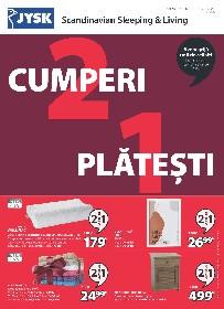 JYSK - Cumperi 2 platesti 1 | 14 Decembrie - 24 Decembrie