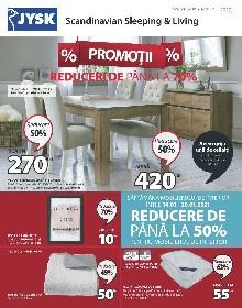 JYSK - Reducere la mobilierul de interior | 14 Ianuarie - 10 Februarie