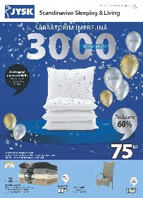 JYSK - Sarbatorim impreuna 3000 de magazine | 06 Mai - 02 Iunie