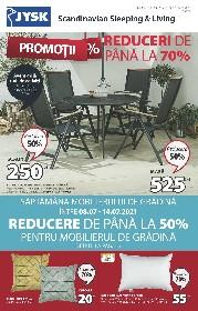 JYSK - Reduceri la mobilierul de gradina | 08 Iulie - 04 August