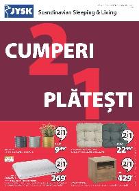 JYSK - Cumperi 2 platesti 1 | 30 Septembrie - 06 Octombrie