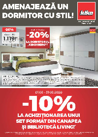 Kika - Amenajeaza un dormitor cu stil | 01 Mai - 31 Mai