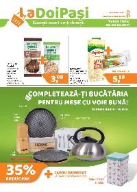 La Doi Pasi - Completeaza-ti bucataria pentru mese cu voie buna | 05 Februarie - 28 Februarie