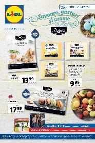 Lidl - Savoare gusturi si arome | 30 Martie - 05 Aprilie