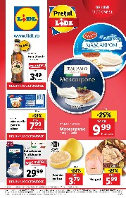 Lidl - Gust si pasiune in stil italian | 19 Octombrie - 25 Octombrie
