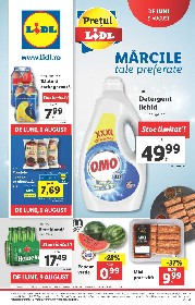 Lidl - Marcile tale preferate   09 August - 15 August