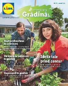 Lidl - Primavara in gradina | 24 Februarie - 05 Aprilie