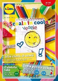 Lidl - Scoala in culori vesele | 17 August - 30 August