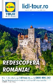 Lidl Tour - Redescopera Romania! | 01 Septembrie - 30 Septembrie
