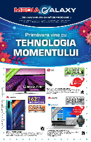 Media Galaxy - Primavara vine cu tehnologia momentului | 19 Martie - 25 Martie