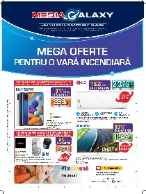Media Galaxy - Mega Oferte pentru o vara incendiara | 02 Iulie - 08 Iulie
