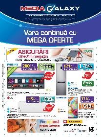 Media Galaxy - Vara continua cu Mega Oferte | 30 Iulie - 05 August