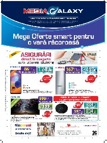 Media Galaxy - Mega Oferte Smart pentru o vara racoroasa | 06 August - 12 August