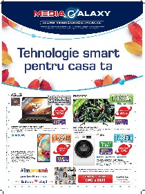 Media Galaxy - Tehnologie smart pentru casa ta  | 24 Septembrie - 30 Septembrie