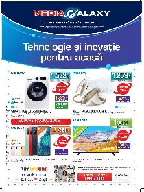 Media Galaxy - Tehnologie si inovatie pentru acasa | 15 Octombrie - 21 Octombrie