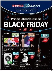 Media Galaxy - Prinde ultimele zile de BLACK FRIDAY | 26 Noiembrie - 02 Decembrie