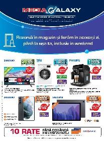 Media Galaxy - Rezerva in magazin si livram in aceeasi zi | 25 Martie - 31 Martie