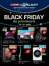 Media Galaxy - Black Friday de primavara | 15 Aprilie - 21 Aprilie