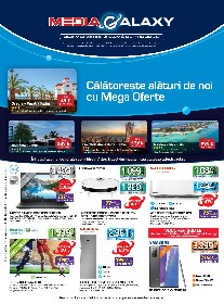 Media Galaxy - Calatoreste alaturi de noi cu Mega Oferte | 24 Iunie - 30 Iunie