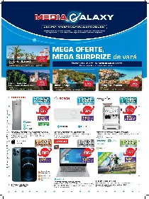 Media Galaxy - Mega oferte, Mega surprize de vara | 08 Iulie - 14 Iulie