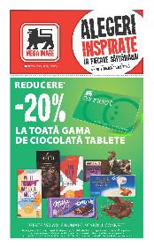 Mega Image - 20% reducere la toata gama de ciocolata tablete | 05 Martie - 11 Martie