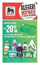 Mega Image - 20% reducere la toata gama de dergenti lichizi si capsule | 25 Iunie - 01 Iulie