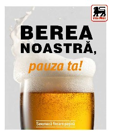 Mega Image - Berea noastra, pauza ta! | 02 Iulie - 05 August