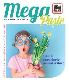 Mega Image - Cauta surprizele sarbatorilor | 26 Martie - 19 Aprilie
