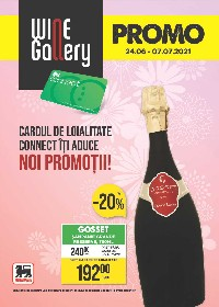 Mega Image -Noi promotii  Wine Gallery | 24 Iunie - 07 Iulie