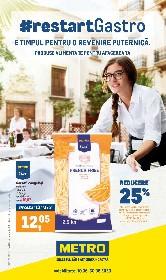 Metro alimentar - #restartGastro | 10 Iunie - 30 Iunie