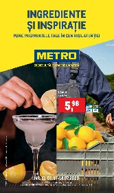Metro - Ingrediente si inspiratie | 08 Iulie - 14 Iulie