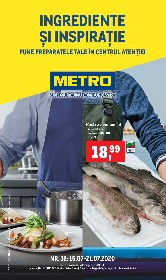 Metro - Ingrediente si inspiratie | 15 Iulie - 21 Iulie