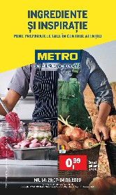 Metro - Ingrediente si inspiratie | 29 Iulie - 04 August