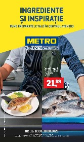 Metro - Peste si produse proaspete | 12 August - 18 August