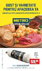Metro - Gust si varietate pentru afacerea ta | 02 Septembrie - 15 Septembrie
