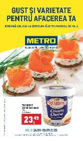Metro - Gust si varietate pentru afacerea ta | 16 Septembrie - 29 Septembrie