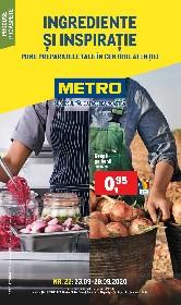 Metro - Ingrediente si inspiratie | 23 Septembrie - 29 Septembrie