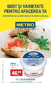 Metro - Gust si varietate pentru afacerea ta | 14 Octombrie - 27 Octombrie