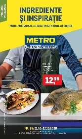 Metro - Ingrediente si inspiratie | 21 Octombrie - 27 Octombrie