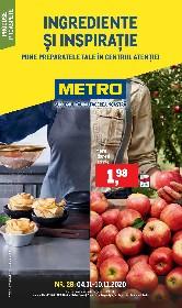 Metro - Ingrediente si inspiratie | 04 Noiembrie - 10 Noiembrie