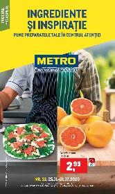 Metro - Ingrediente si inspiratie | 25 Noiembrie - 01 Decembrie