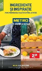 Metro - Ingrediente si inspiratie | 13 Ianuarie - 19 Ianuarie