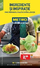 Metro - Ingrediente si inspiratie | 17 Februarie - 23 Februarie