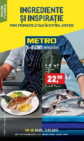 Metro - Ingrediente si inspiratie | 10 Martie - 16 Martie