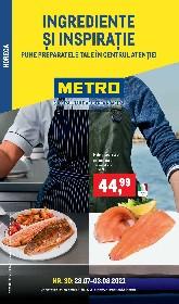 Metro - Ingrediente si inspiratie | 28 Iulie - 03 August